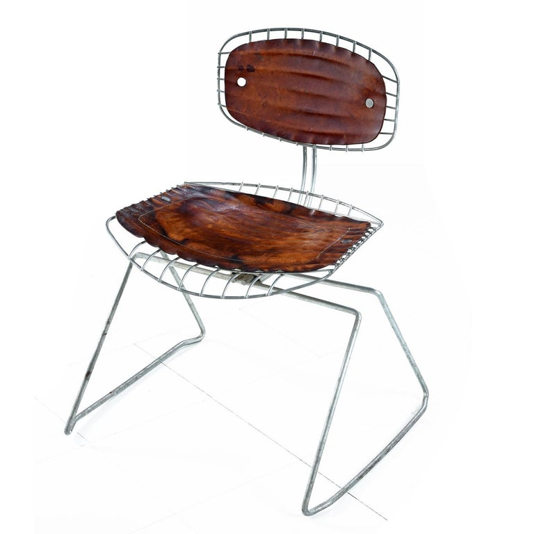 Mid-Century Modern Pompidou Centre Beaubourg Chairs by Georges Laurent & Michel Cadestin For Sale