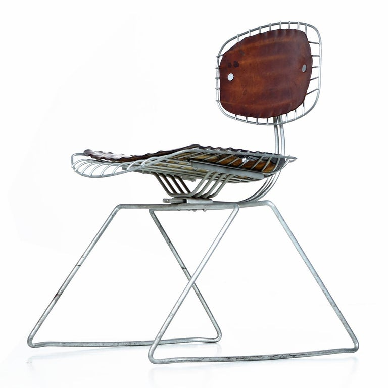 American Pompidou Centre Beaubourg Chairs by Georges Laurent & Michel Cadestin For Sale
