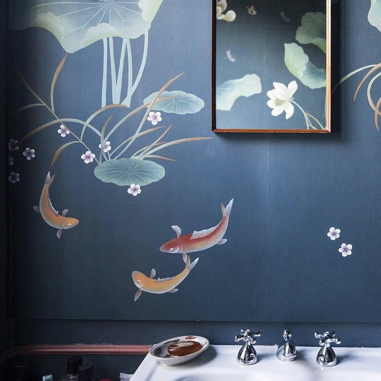Pond Wallpaper In New Condition For Sale In Milan, IT