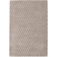 Ponti Silk Hand-Knotted 10x8 Rug in Wool and Silk by Suzanne Sharp