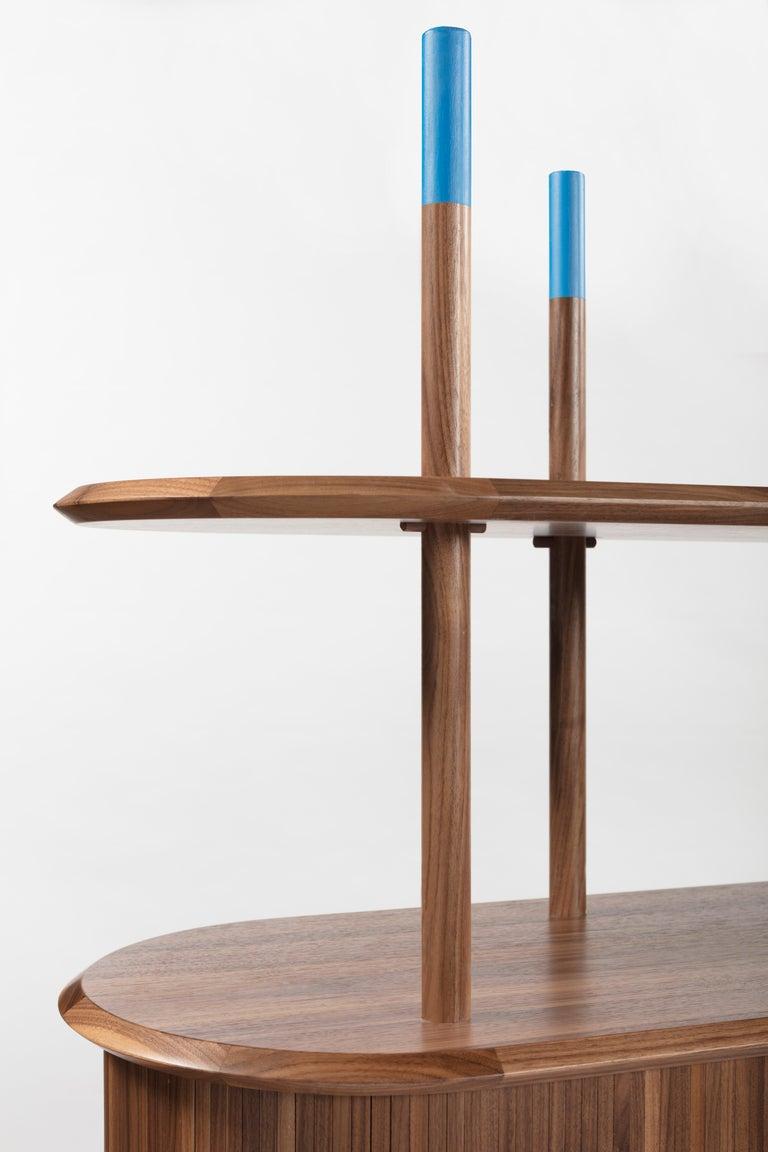 Modern Pontile, Bookcase by Accardi e Buccheri For Sale