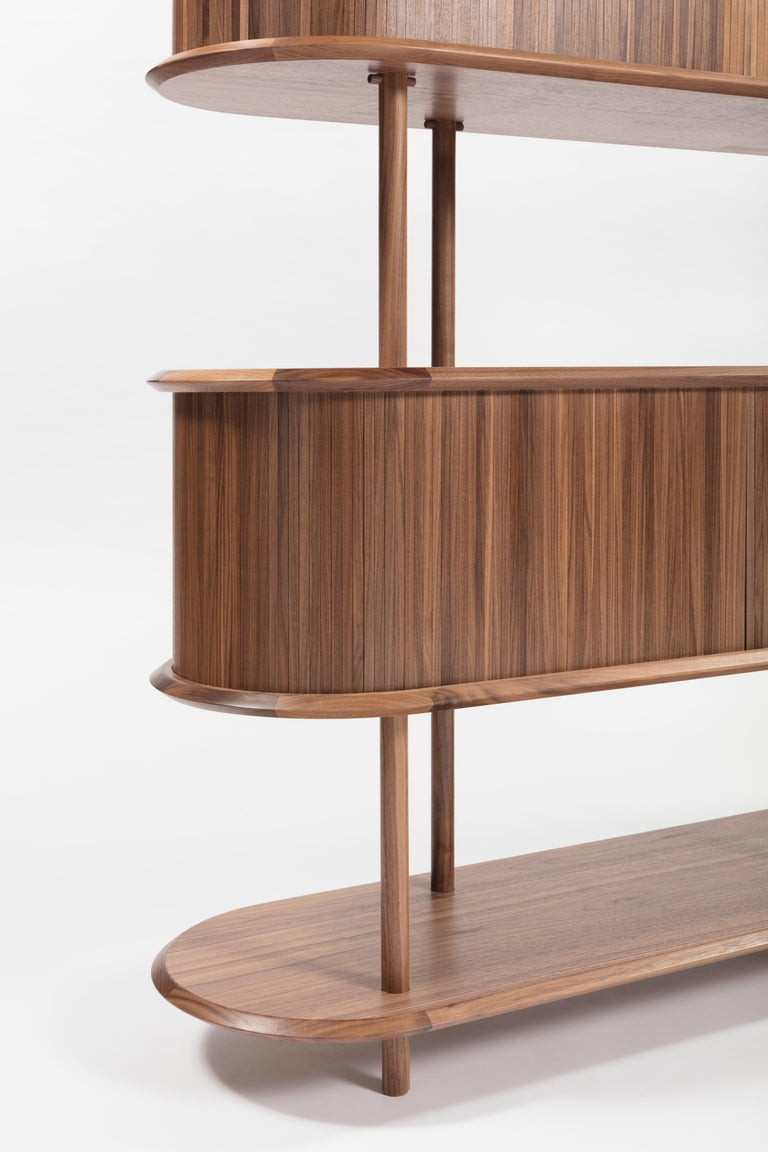 Contemporary Pontile, Bookcase by Accardi e Buccheri For Sale