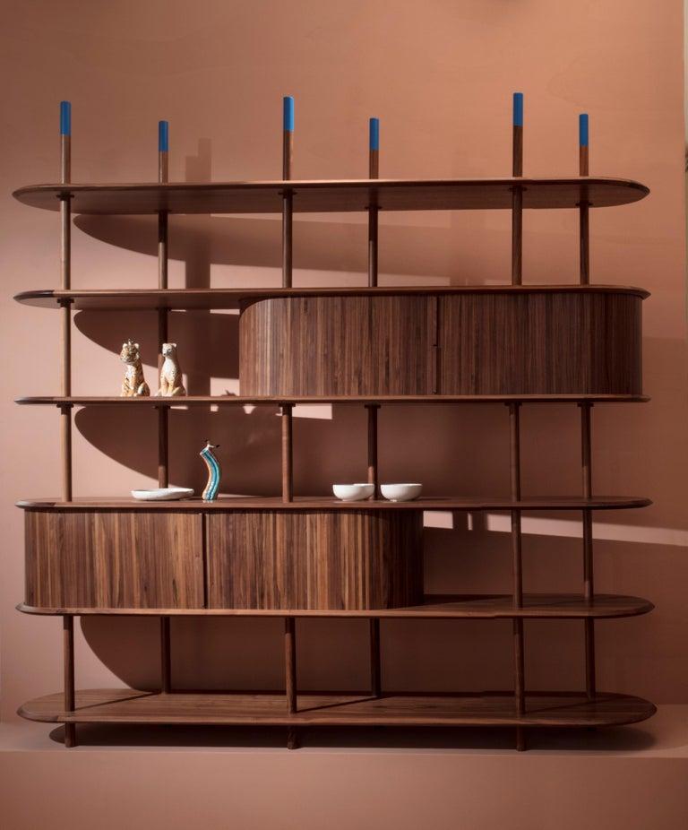 Pontile, Bookcase by Accardi e Buccheri For Sale 1