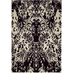 Pony Hand-Knotted 6x4 Area Rug in Wool by Alexander McQueen