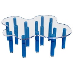 Pool Contemporary Table in Acrylic and Foam