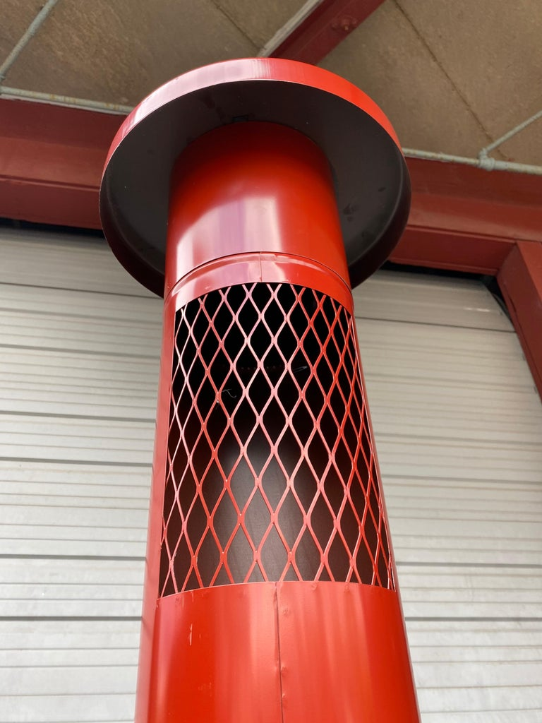 Enameled Pop 1970s Space Age, Modernist Free Standing Pre-Way Electric Fireplace For Sale