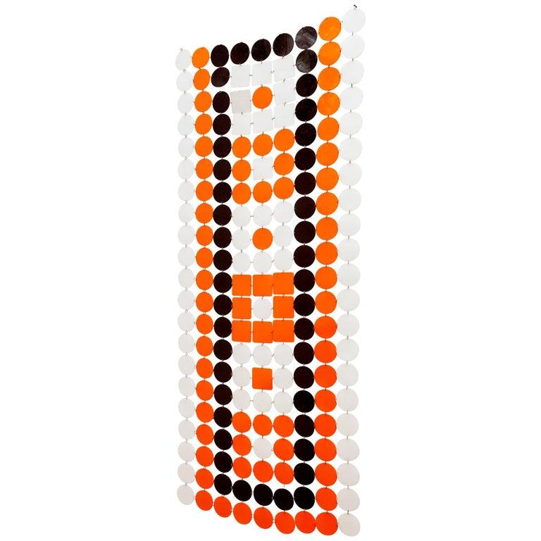 Pop-Art 1960s Hanging Screen For Sale