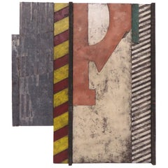 Pop Art Construction Mixed Media Signed R. Burroughs, Dated 1971