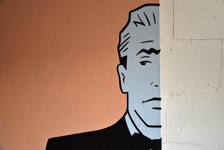 Pop Art painting by Luc Verschuuren, 2001 In Good Condition For Sale In Weesp, NL