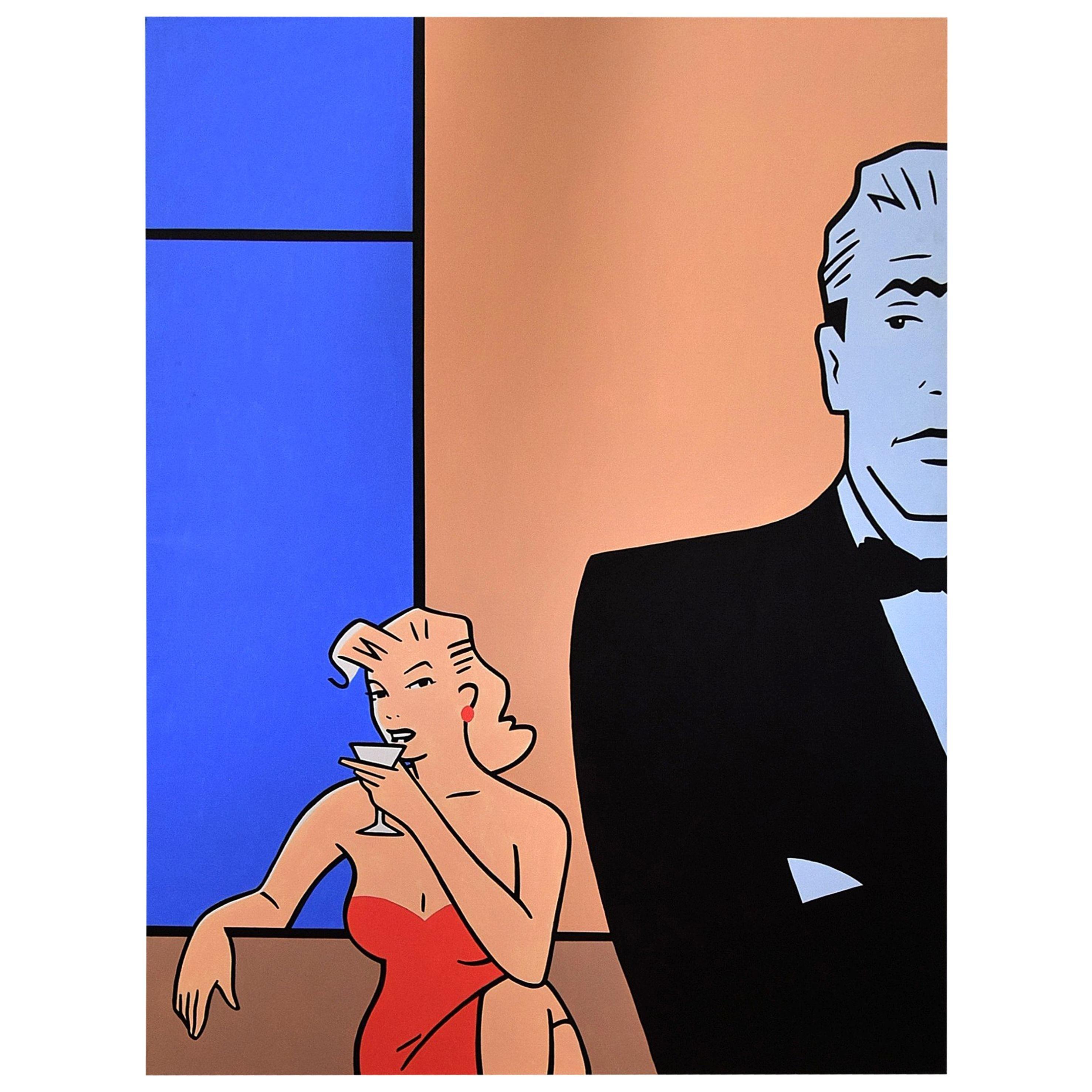 Pop Art painting by Luc Verschuuren, 2001