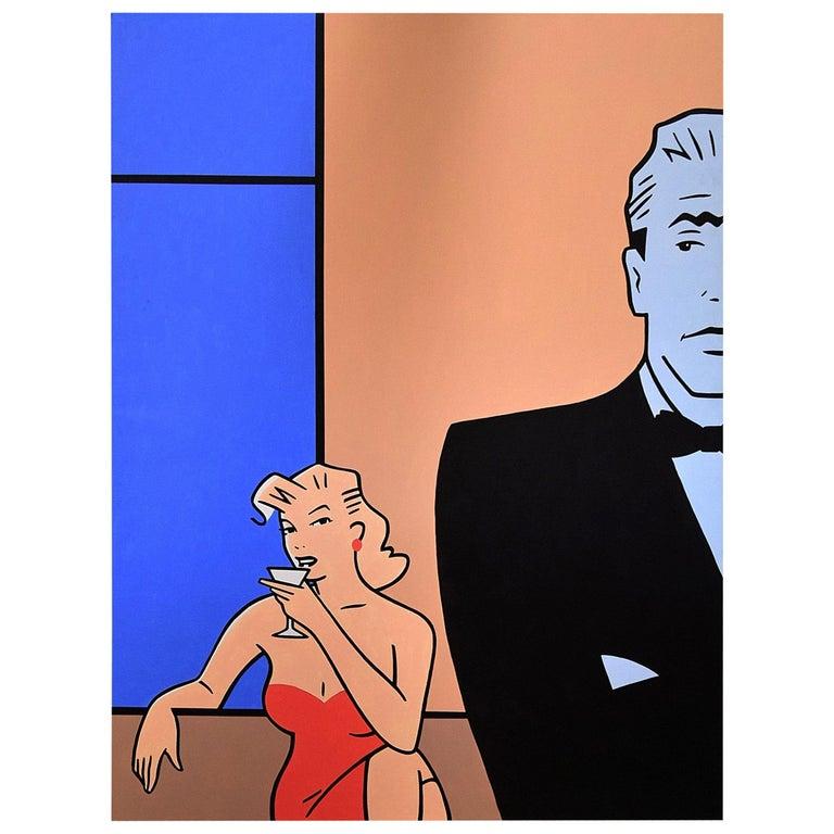 Pop Art painting by Luc Verschuuren, 2001 For Sale