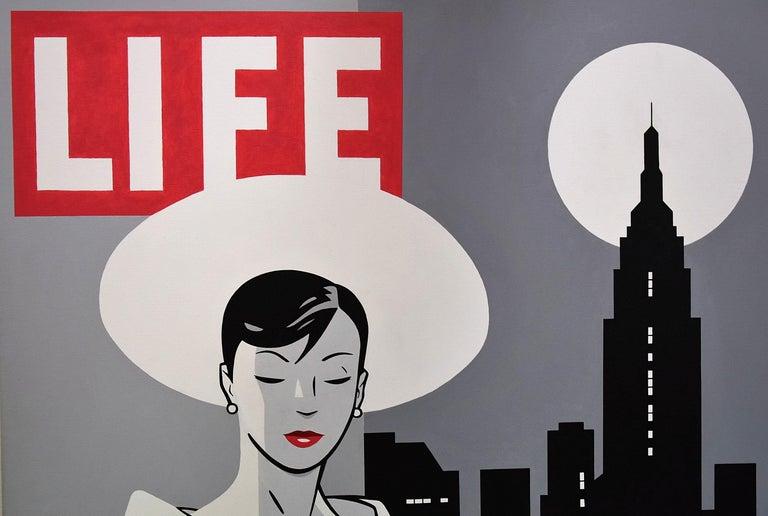 Modern Pop Art Painting by Luc Verschuuren For Sale