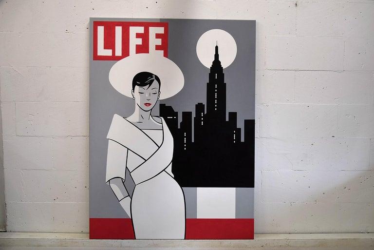 Dutch Pop Art Painting by Luc Verschuuren For Sale