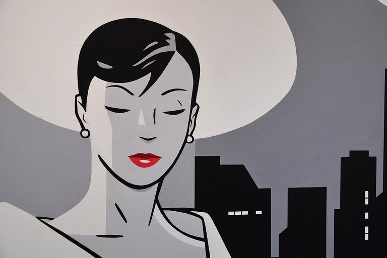 Pop Art Painting by Luc Verschuuren In New Condition For Sale In Weesp, NL