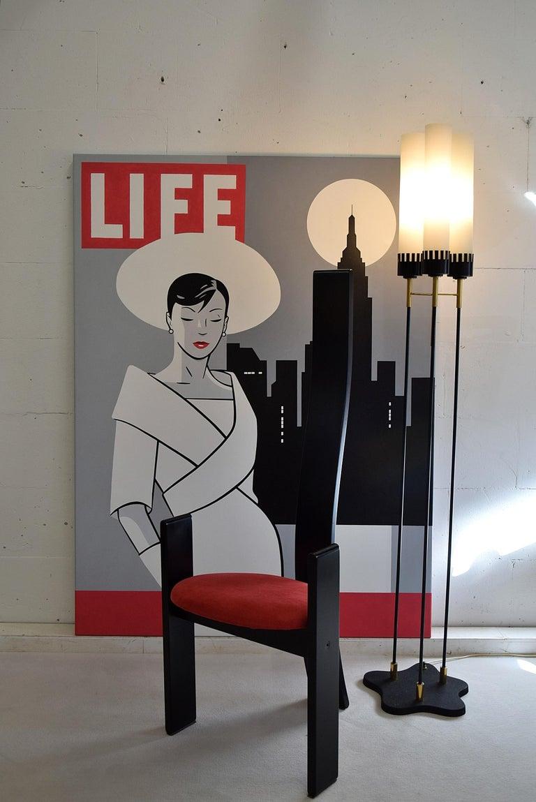 Canvas Pop Art Painting by Luc Verschuuren For Sale