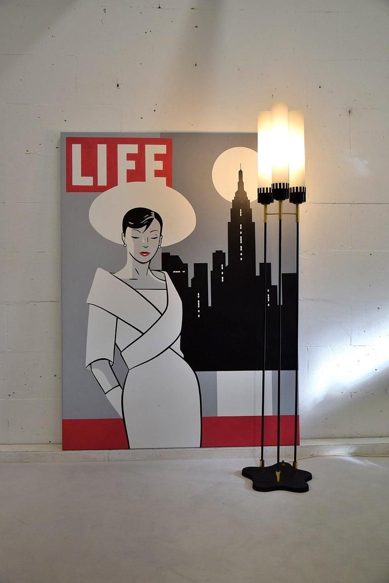 Pop Art Painting by Luc Verschuuren For Sale 2