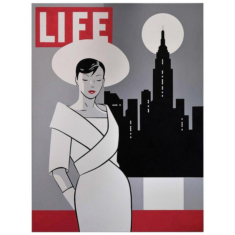 Pop Art Painting by Luc Verschuuren For Sale
