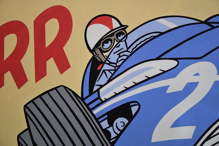 Modern Pop Art Painting by Luc Verschuuren Vroarr Revisited For Sale