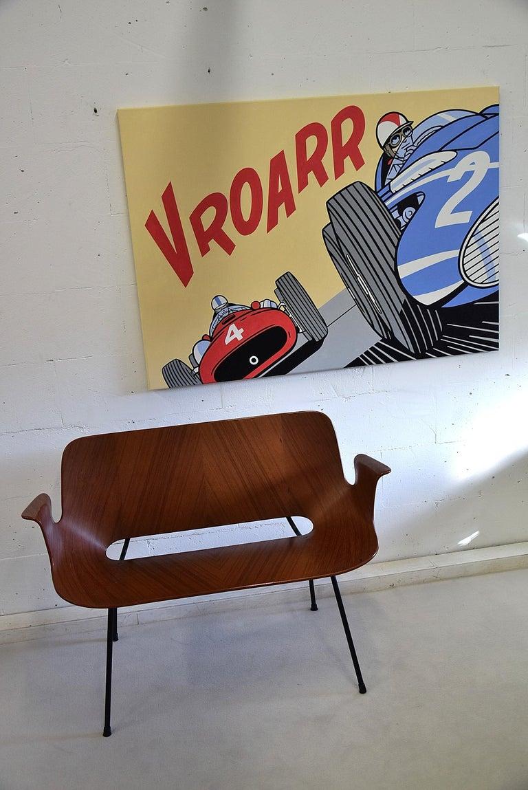 Canvas Pop Art Painting by Luc Verschuuren Vroarr Revisited For Sale