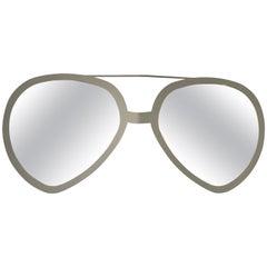 Pop Art Style Aviator Sunglasses Wall Mirror