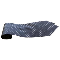 Pop Art Vintage Retro Silk Polka Dot Tie, Classic from 1960s