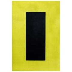 Pop Art Yellow and Black Perspex Light Panel by Johanna Grawunder Italian Design