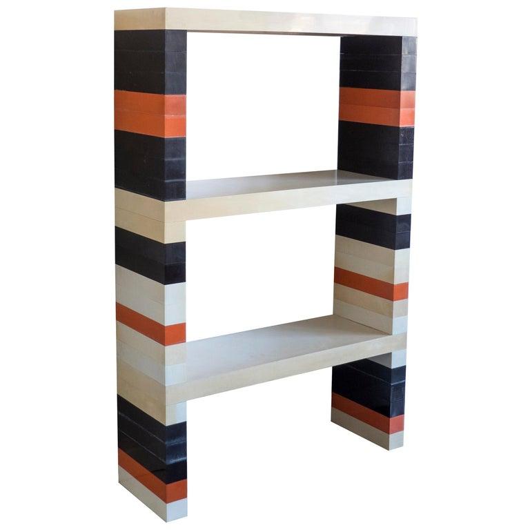 Jonathan de Pas, Donato D'Urbino and Paolo Lomazzi Brick shelf, 1970, offered by 1+1 Design Gallery