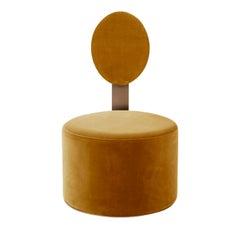 Pop Ocher Chair by Artefatto Design Studio