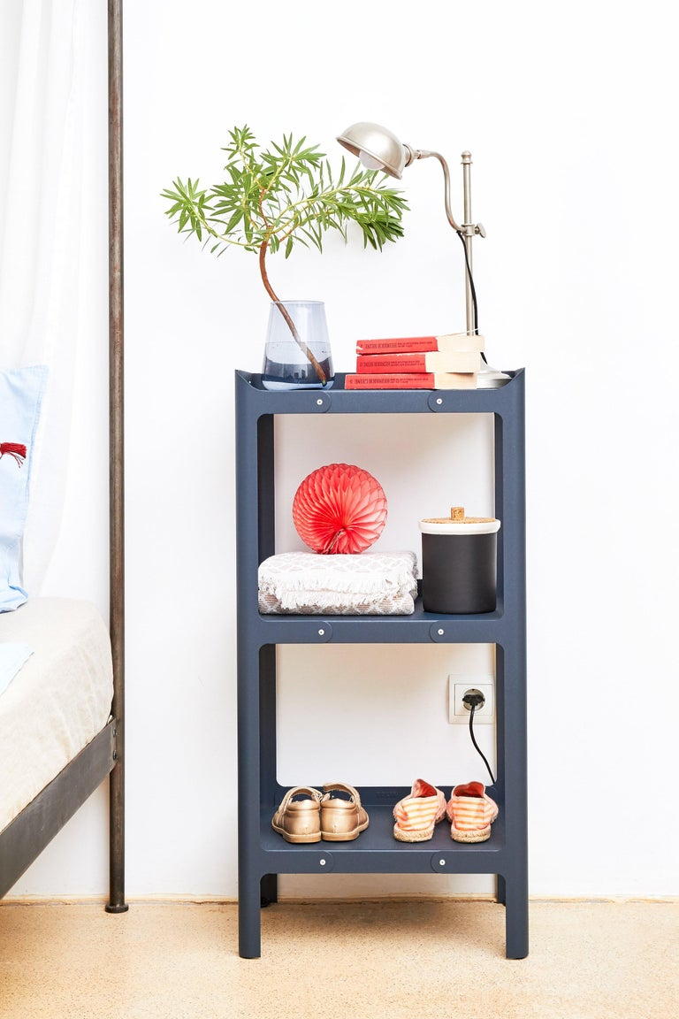 Contemporary Pop Shelf 900 in Pop Colors by Normal Studio and Tolix For Sale