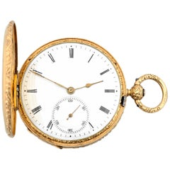 Pope Pius IX Gold Pocket Watch by Aucoc