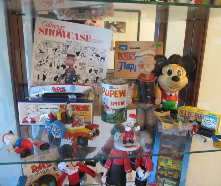 Machine-Made Popeye Collection For Sale