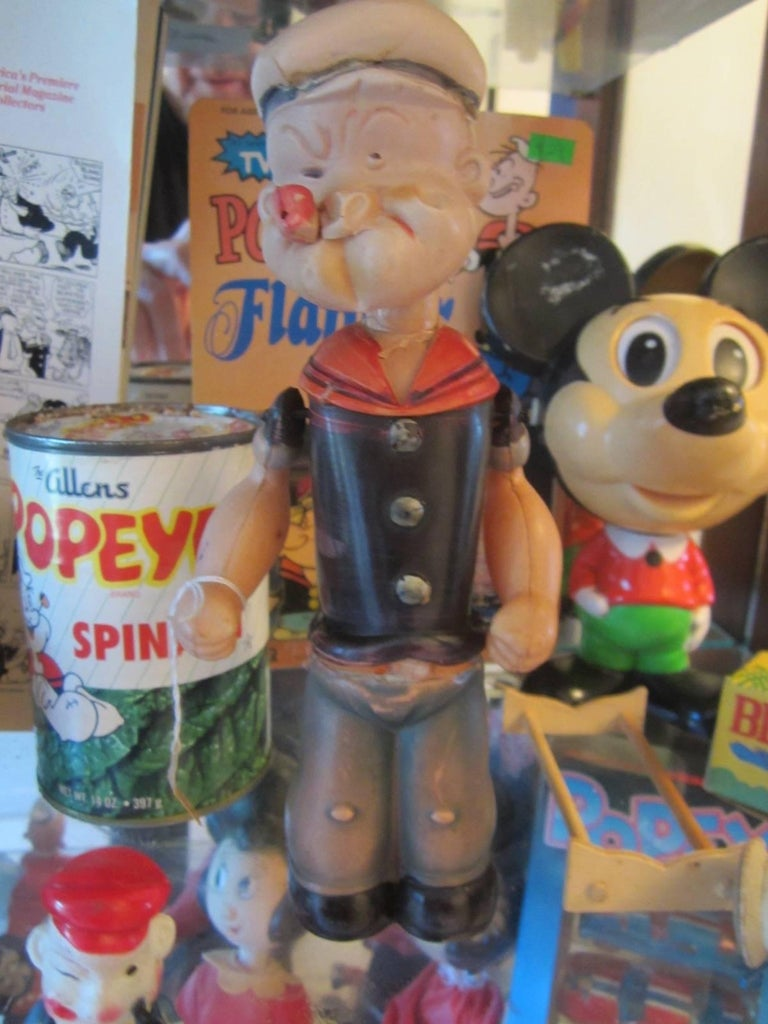 Metal Popeye Collection For Sale