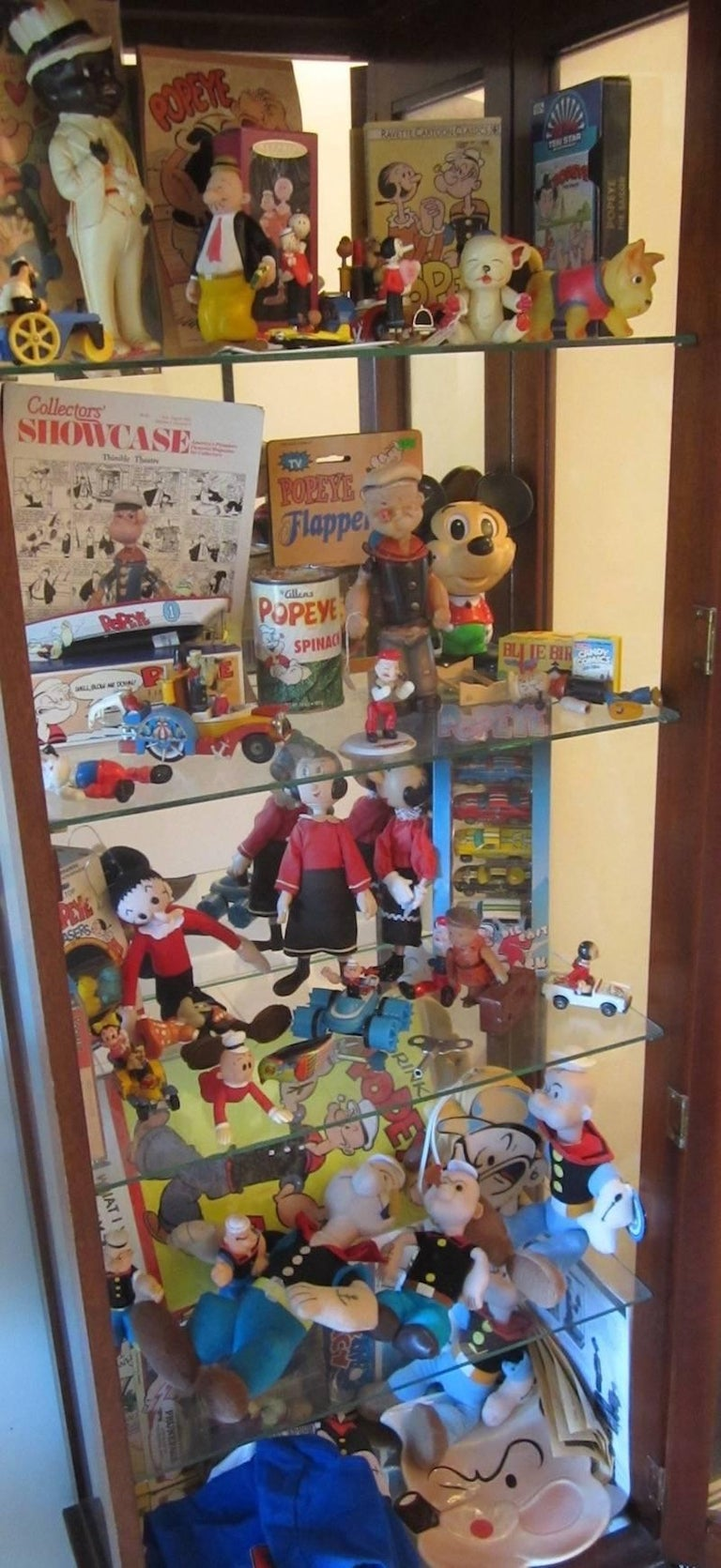 Folk Art Popeye Collection For Sale