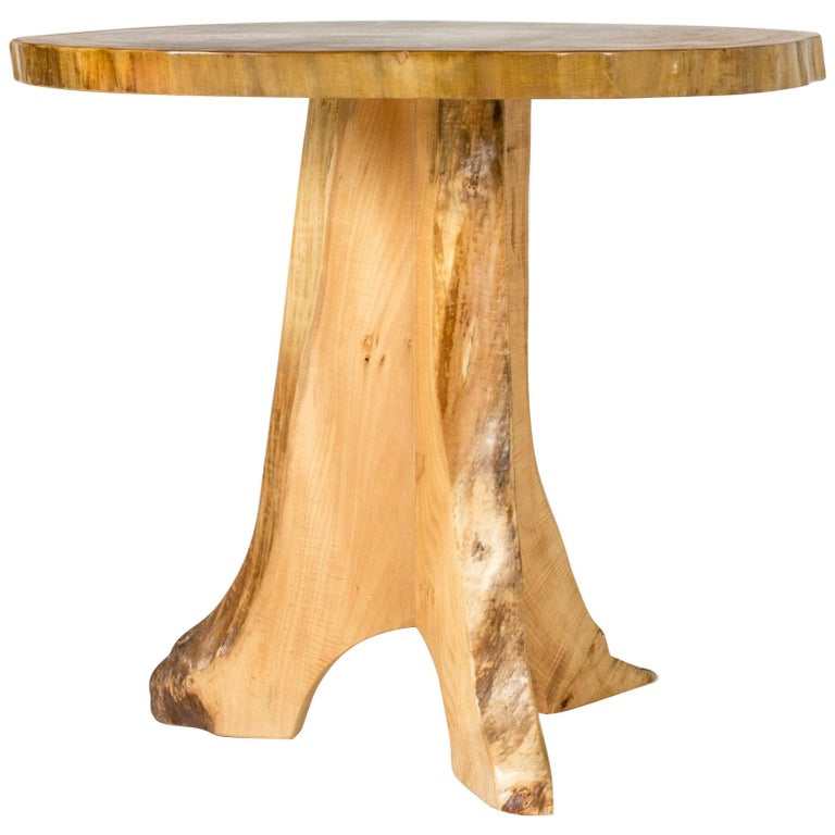 Poplar Occasional Table by Sigvard Nilsson for Söwe-Konst, Sweden, 1960s For Sale