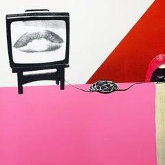 Control, 1976 - Surrealist Silkscreen Print