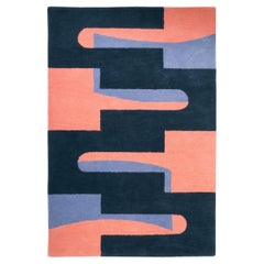 Popsicle Tufted Pile Rug Contemporary Geometric Shape Tapestry Wall Hanging