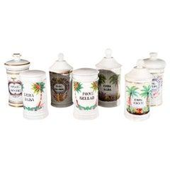 Porcelain Apothecary Jars