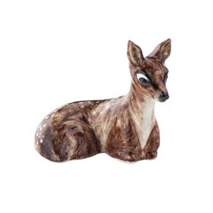 Black Forest Hand-Painted Porcelain Bambi Figur Sofina Boutique Kitzbuehel