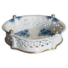Porcelain Basket from Wallendorf, Germany