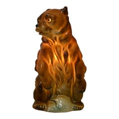 Porcelain Bear Perfume Lamp, Germany, 1940s