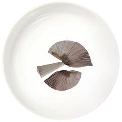 "Porcelain Bowl by the French Chef Alain Passard Model ""Mushroom"""