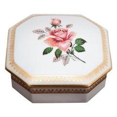 Porcelain Casket, Limoges, France