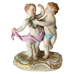 Porcelain Cherubs by Meissen, #2996