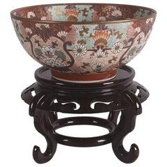 Porcelain Chinese Imari Style Bowl