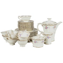 Porcelain Coffee Service '39 pcs' from the Royal Tettau, Signed 1930-1950
