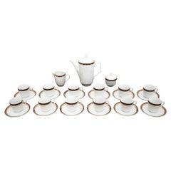Porcelain Coffee / Tea Service by Wałbrzych, Poland
