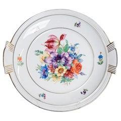 Porcelain Dish, Carstens Porzellanfabrik Sorau