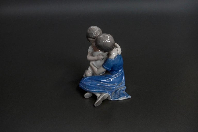 Porcelain figurine of the Danish Bing & Grondahl manufacture, perfect condition. Mark used in the period 1952-1957.