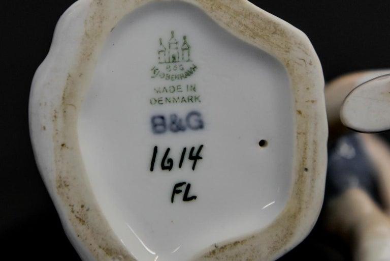 Mid-20th Century Porcelain Figurine Bing & Grondahl For Sale