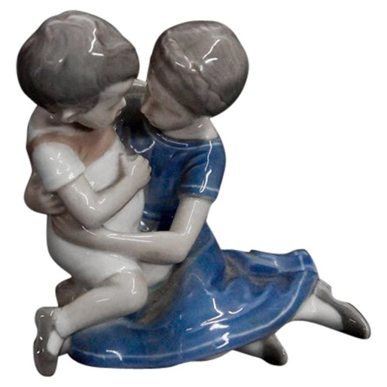 Porcelain Figurine Bing & Grondahl For Sale
